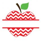 Chevron Split Apple