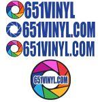 651VINYL Logos