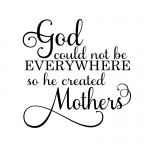 God Could Not Be Everywhere