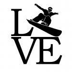 LOVE Snowboarding