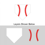 Home Plate Layered