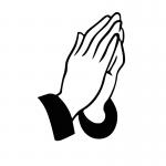 Praying Hands and Cuffs